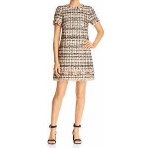 Kate Spade Heart It Bi Color tweed dress NEW 4
